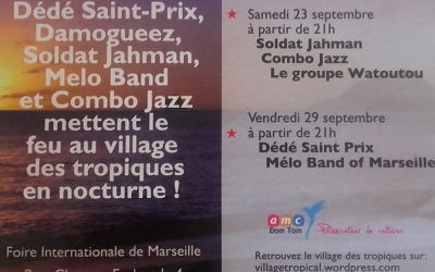 Village Caraïbe de la Foire de Marseille 2017