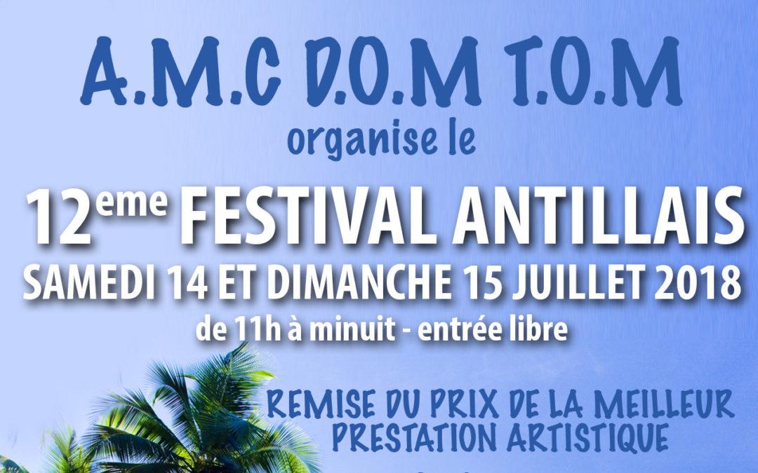 Samedi 14 et dimanche 15 juillet 2018 – Festival antillais