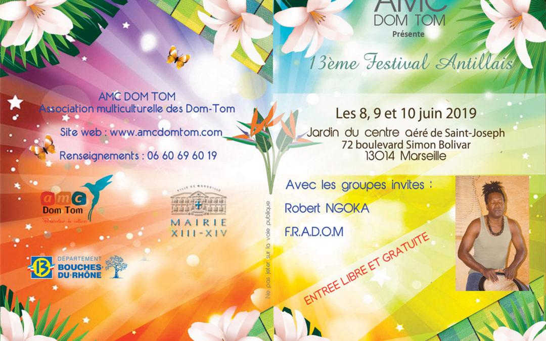 Du 8 au 10 juin 2019 – Festival Antillais à Marseille
