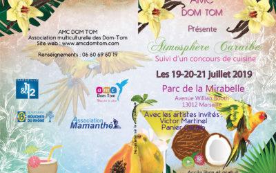 Du 19 au 21 juillet 2019 – Atmosphère Caraïbe à Marseille